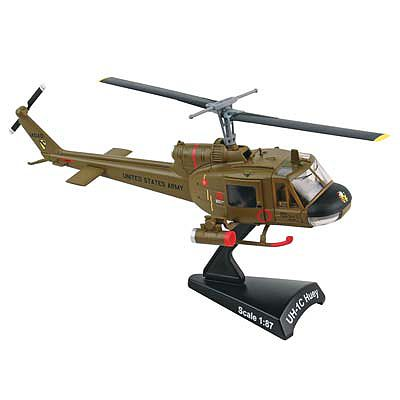 Daron Worldwide Trading Inc. 1/87 Huey UH1C Gunship 1st Air Cavalry Div Helicopter