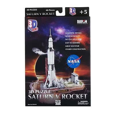 Daron Worldwide Trading Inc. Saturn V Rocket 3D 68pcs -- 3D Jigsaw Puzzle -- #653h