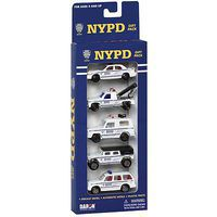 Daron NYPD 5-Piece Vehicle Set (5)