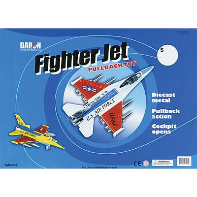Daron Worldwide Trading Inc. Jet Fighter 6pc Assortment (6)