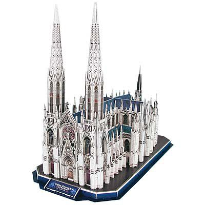 Daron Worldwide Trading Inc. St. Patrick's Catherdral 3D 110pcs -- 3D Jigsaw Puzzle -- #cf103h