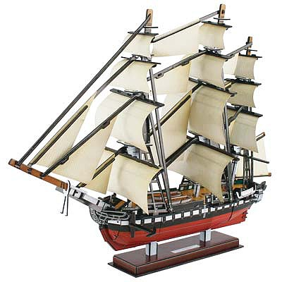 Daron Worldwide Trading Inc. USS Constitution 3D Puzzle 193pcs -- 3D Jigsaw Puzzle -- #cft4024h
