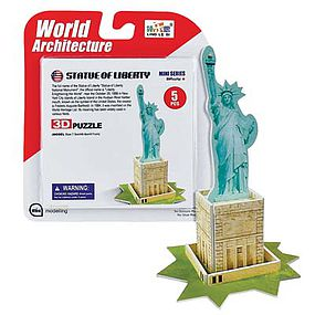Daron Super Mini Statue of Liberty 3D Puzzle 5pcs 3D Jigsaw Puzzle #chc1306