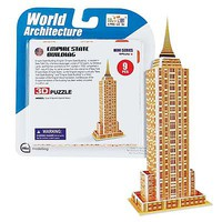 Daron Super Mini Empire State Building 3D Puzzle 9pcs 3D Jigsaw Puzzle #chc1314