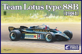 Ebbro 1/20 1981 Lotus Type 88B Team Lotus F1 Race Car