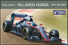 Ebbro 1/20 2015 McLaren Honda MP4-30 F1 Early Season Race Car