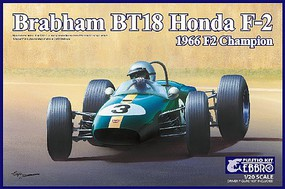 Ebbro 1/20 1966 Brabham Honda BT18 F2 Champion Race Car (New Tool)