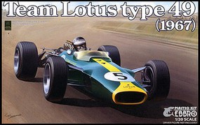Ebbro 1/20 1967 Lotus Type 49 Team Lotus F1 Race Car