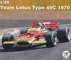 Ebbro 1/20 1970 Lotus Type 49C Team Lotus F1 Race Car