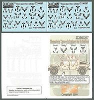 Echelon Homeless Space Intruders for Adoption Plastic Model Military Decal 1/35 Scale #356067