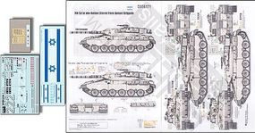 Echelon Merkava Siman 1 for TAM Plastic Model Tank Decal 1/35 Scale #356171