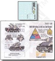 Echelon Hell Hath no Fury Like an Easy Eight Scorned Plastic Model Military Decal 1/35 #356189
