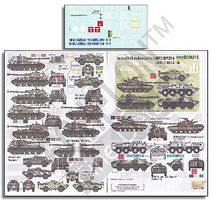 Echelon Ukraine AFVs Ukraine-Russia Crisis Pt.6 Plastic Model Military Decal 1/35 Scale #356215