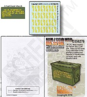 Echelon 1/35 NAM/Cold War Era .50Cal M2 Ammo Box Labels