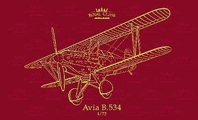Eduard-Models Royal Class Avia B534 Quattro Combo Aircraft Plastic Model Airplane Kit 1/72 Scale #10
