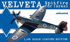 Eduard-Models 1/48 Velveta/Spitfire Israel Fighter (EduArt Ltd Edition Plastic Kit)