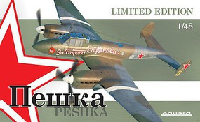 Eduard-Models 1/48 Peshka Aircraft (Ltd Edition Plastic Kit)