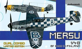 Eduard-Models Mersu/Bf109 in Finland Fighter Dual Combo Plastic Model Airplane Kit 1/48 Scale #11114