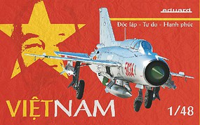 Eduard-Models Vietnam Fighter (Limited Edition) Plastic Model Airplane Kit 1/48 Scale #111