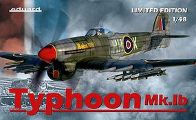 Eduard-Models 1/48 Typhoon Mk Ib Aircraft (Ltd Edition Plastic Kit)