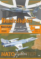 Eduard-Models Bundesfighter NATO Fighter (Limited Edition Plastic Kit) 1/48 Plastic Model Airplane #1133