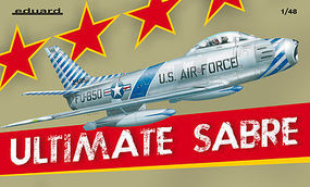 Eduard-Models Ultimate Sabre Fighter (Ltd Edition Plastic Kit) Plastic Model Airplane 1/48 Scale #1163