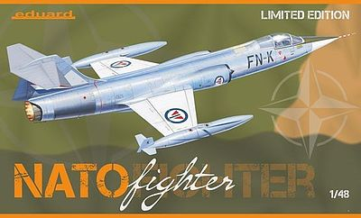 Eduard Models NATO Fighter (Ltd Edition Plastic Kit) -- 1/48 Scale Plastic Model Airplane -- #1196