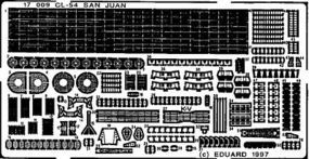 Eduard-Models CL56 San Juan for a Dragon Model Plastic Model Ship Detail Kit 1/700 Scale #17009
