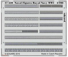 Eduard-Models Royal Navy Figures (Painted) Plastic Model Ship Accessory 1/700 Scale #17530
