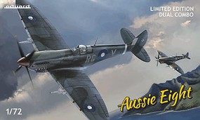 Eduard-Models 1/72 Aussie Eight Aircraft Dual Combo (Ltd Edition Plastic Kit)