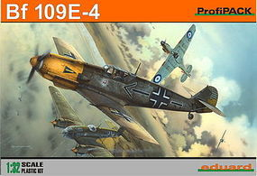Eduard-Models Bf109E4 WWII Fighter (Profi-Pack) Plastic Model Airplane Kit 1/32 Scale #3003