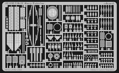 Eduard 32086 1//35 Interior Detail set for revell MRC Academy Italeri UH-1C Huey