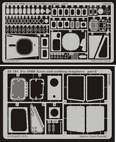 Eduard-Models Fw190D Scribing Template & Acc for Hasegawa Plastic Model Aircraft Access 1/32 #32104