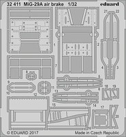 Eduard-Models 1/32 Aircraft- MiG29A Air Brake for TSM