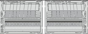 Eduard-Models 1/32 Aircraft- Fw190A8 Landing Flaps for RVL