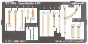 Eduard-Models Photo Etch Seatbelts IJN Plastic Model Aircraft Decal 1/32 Scale #32505