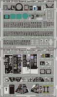 Eduard-Models Aircraft- F14A Interior for TAM Plastic Model Aircraft Accessory 1/32 Scale #32529