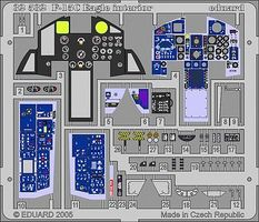 Eduard-Models Aircraft- F15C Eagle Interior for TAM Plastic Model Aircraft Accessory 1/32 Scale #32532