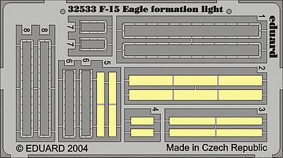 Eduard Models Aircraft- F15 Eagle Formation Light -- Plastic Model Aircraft Accessory -- 1/32 Scale -- #32533