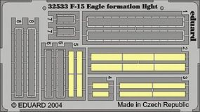 Eduard-Models Aircraft- F15 Eagle Formation Light Plastic Model Aircraft Accessory 1/32 Scale #32533