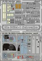 Eduard-Models Aircraft- Me262A1 Schwalbe Interior Plastic Model Aircraft Accessory 1/32 Scale #32550