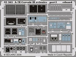 Eduard-Models Aircraft- A7E Corsair II Avionics Plastic Model Aircraft Accessory 1/32 Scale #32564