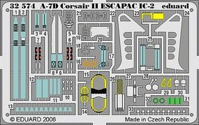 Eduard-Models Aircraft- A7D Corsair II ESCAP IC2 Plastic Model Aircraft Accessory 1/32 Scale #32574