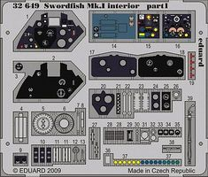 Eduard-Models Aircraft- Swordfish Mk I Interior Plastic Model Aircraft Accessory 1/32 Scale #32649