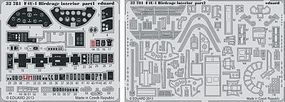 Eduard-Models Aircraft- F4U1 Birdcage Interior Plastic Model Aircraft Accessory 1/32 Scale #32781