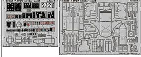 Eduard-Models P39Q/N Interior for Kitty Hawk Plastic Model Aircraft Accessory 1/32 Scale #32853