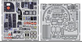Eduard-Models A6E Tram Interior for TSM (Painted) Plastic Model Aircraft Accessory 1/32 Scale #32863