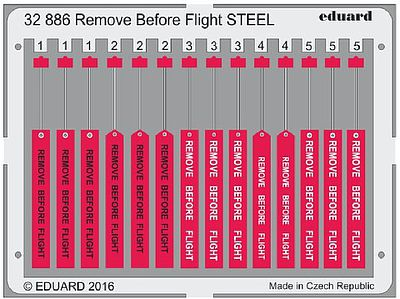 Eduard Models 1/32 Aircraft- Remove Before Flight Steel (Painted)