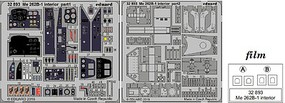 Eduard-Models 1/32 Aircraft- Me262B1 Interior for RVL (Painted)