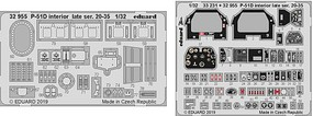 Eduard-Models 1/32 Aircraft- P51D Interior Late Ser 20-35 for TAM (Painted)